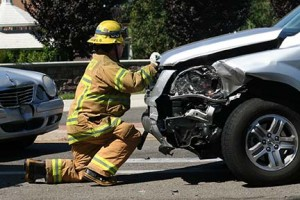 firefighter-at-car-accident
