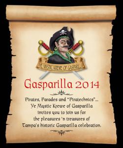 GASPARILLA 2014, TAMPA BAY, TAMPA BAY EVENTS, GASPARILLA PARADE